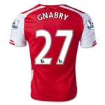 Arsenal 14/15 GNABRY 27 Home Soccer Jersey