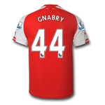 Arsenal 14/15 GNABRY Home Soccer Jersey