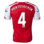 Arsenal 14/15 MERTESACKER Home Soccer Jersey