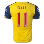 Arsenal 14/15 OZIL Away Soccer Jersey