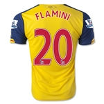 Arsenal 14/15 FLAMINI Away Soccer Jersey