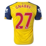 Arsenal 14/15 GNABRY Away Soccer Jersey