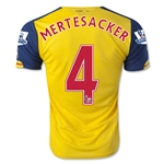 Arsenal 14/15 MERTESACKER Away Soccer Jersey