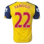 Arsenal 14/15 SANOGO Away Soccer Jersey