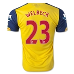 Arsenal 14/15 WELBECK Away Soccer Jersey
