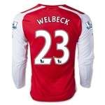 Arsenal 14/15 WELBECK LS Home Soccer Jersey