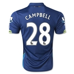 Arsenal 14/15 CAMPBELL Cup Soccer Jersey