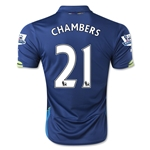 Arsenal 14/15 CHAMBERS Cup Soccer Jersey