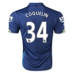 Arsenal 14/15 COQUELIN Cup Soccer Jersey