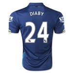 Arsenal 14/15 DIABY Cup Soccer Jersey