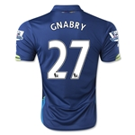 Arsenal 14/15 GNABRY Cup Soccer Jersey