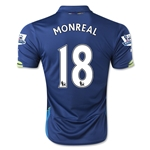 Arsenal 14/15 MONREAL Cup Soccer Jersey