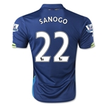 Arsenal 14/15 SANOGO Cup Soccer Jersey