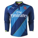 Arsenal 14/15 LS Cup Soccer Jersey