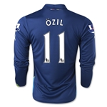 Arsenal 14/15 LS OZIL Cup Soccer Jersey