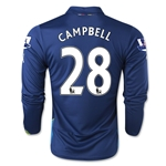 Arsenal 14/15 LS CAMPBELL Cup Soccer Jersey