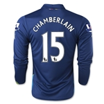 Arsenal 14/15 LS CHAMBERLAIN Cup Soccer Jersey