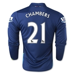 Arsenal 14/15 LS CHAMBERS Cup Soccer Jersey