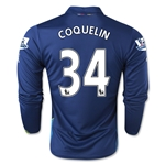 Arsenal 14/15 LS COQUELIN Cup Soccer Jersey