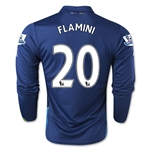 Arsenal 14/15 LS FLAMINI Cup Soccer Jersey