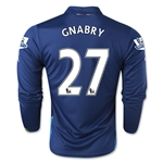 Arsenal 14/15 LS GNABRY Cup Soccer Jersey