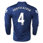 Arsenal 14/15 LS MERTESACKER Cup Soccer Jersey