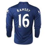 Arsenal 14/15 LS RAMSEY Cup Soccer Jersey
