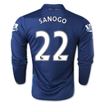 Arsenal 14/15 LS SANOGO Cup Soccer Jersey