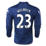 Arsenal 14/15 LS WELBECK Cup Soccer Jersey