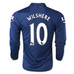 Arsenal 14/15 LS WILSHERE Cup Soccer Jersey