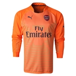 Arsenal 14/15 LS Home Keeper Soccer Jersey