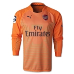 Arsenal 14/15 LS Home Keeper Jersey w/ FA Cup Patch