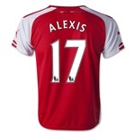 Arsenal 14/15 ALEXIS Youth Home Soccer Jersey