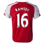 Arsenal 14/15 RAMSEY Youth Home Soccer Jersey