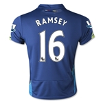 Arsenal 14/15 RAMSEY Youth Cup Soccer Jersey