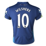 Arsenal 14/15 WILSHERE Youth Cup Soccer Jersey