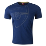 Arsenal Graphic T-Shirt (Navy)
