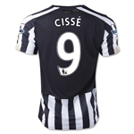 Newcastle United 14/15 CISSE Home Soccer Jersey