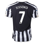 Newcastle United 14/15 SISSOKO Home Soccer Jersey