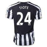 Newcastle United 14/15 TIOTE Home Soccer Jersey