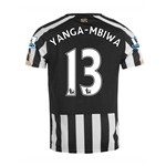 Newcastle United 14/15 YANGA-MBIWA Home Soccer Jersey