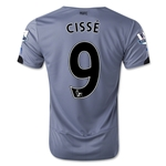 Newcastle United 14/15 CISSE Away Soccer Jersey