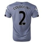 Newcastle United 14/15 COLOCCINI Away Soccer Jersey