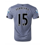 Newcastle United 14/15 FERREYRA Away Soccer Jersey