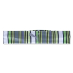 PUMA Women's Stripe Training Headband (Gray/Green)