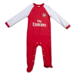 Arsenal Baby Sleepsuit