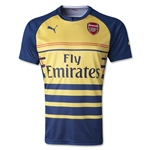 Arsenal Prematch Jersey (Navy/Yellow)