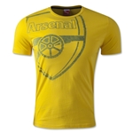 Arsenal Graphic T-Shirt (Yellow)