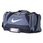 Nike Brasilia 6 Medium Duffle Bag (Gray)