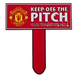 Manchester United Keep Off The Pitch Sign